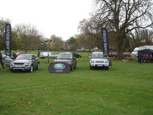 Land Rover vehicle display