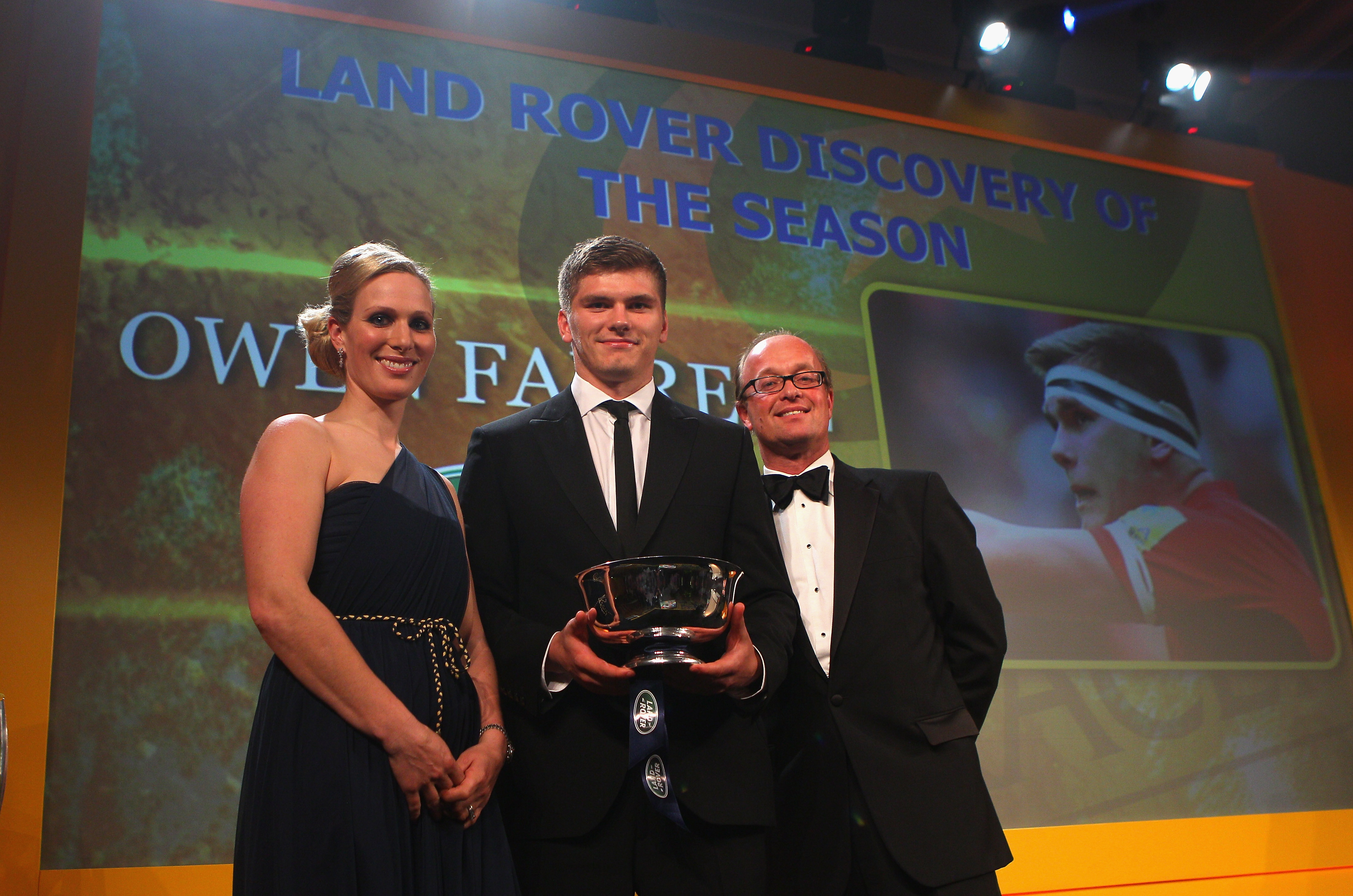 Land Rover At The Aviva Premiership Rugby Awards Fast Track Agency S Blog